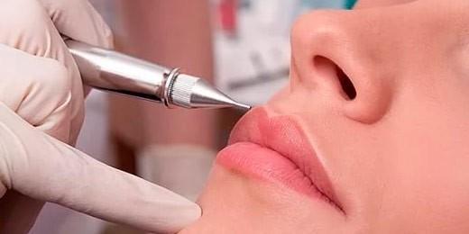 Нано-напыление бровей, губ и век от А до Я