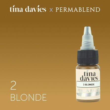"Краска для татуажа бровей ""Tina Davies 'I Love INK' 2 Blonde"""