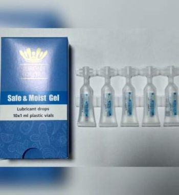 Гель-капли для защиты глаз «Safe & Moist Gel», Corona Colors
