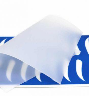 Коврик тренировочный силиконовый, прозрачный