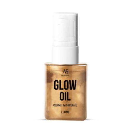 Фото масло GLOW OIL, аромат кокос-шоколад