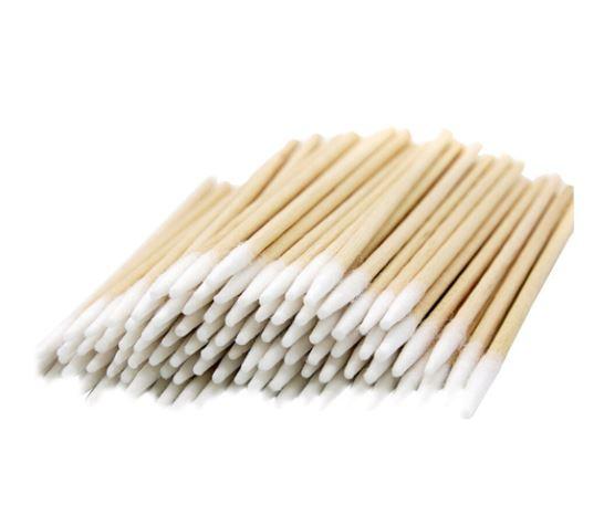 Ватные палочки деревянные 7 см, 100 шт. (микробраши)